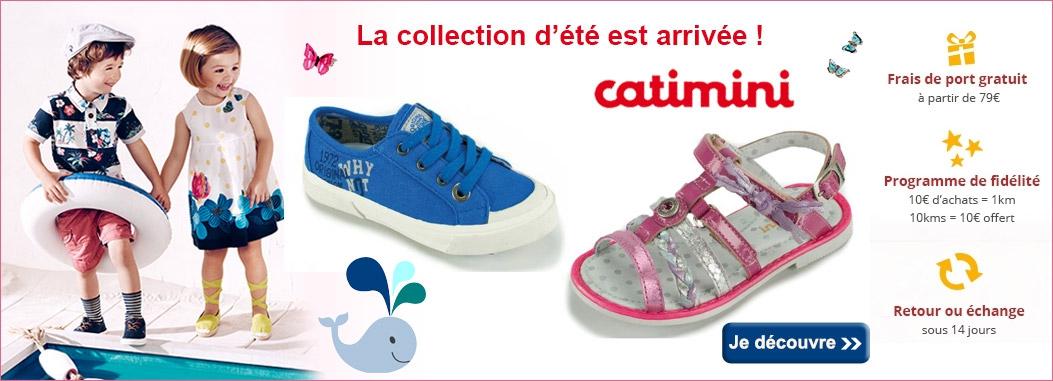 La nouvelle collection été Catimini chaussures est arrivée