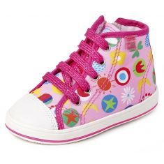 Agatha Ruiz de la Prada Baskets rose multicolore 142925A