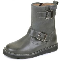 Bottines garçon gris 141523A - Garvalin
