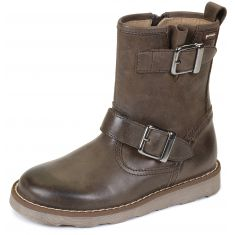 Bottines garçon marron 141523B - Garvalin
