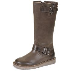 Bottes fille marron 141524B - Garvalin