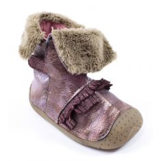 Babybotte Bottines bébé rose ZAZ