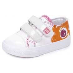 Agatha Ruiz de la Prada Baskets tissu orange 152926A