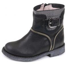 Garvalin Boots noir fille 151670A