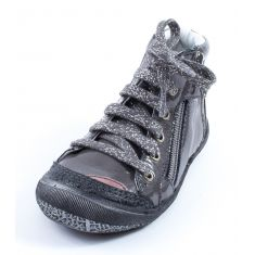 Boots fille gris vernis GBB LOVISE 31921