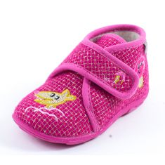Chaussons à scratch rose GBB LAKISHA 90157