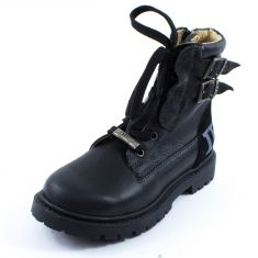 Boots IKKS JAMES noir K3311