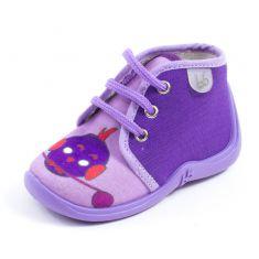 Babybotte Chaussons à lacets MAMOUT parme