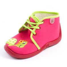 Babybotte Chaussons à lacets MAMOUT rouge