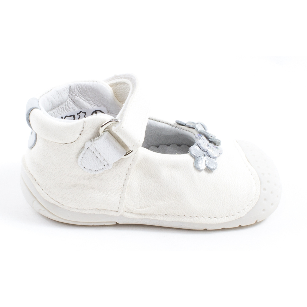 Babybotte Chaussons bébé ZORA nacre X4YWJX