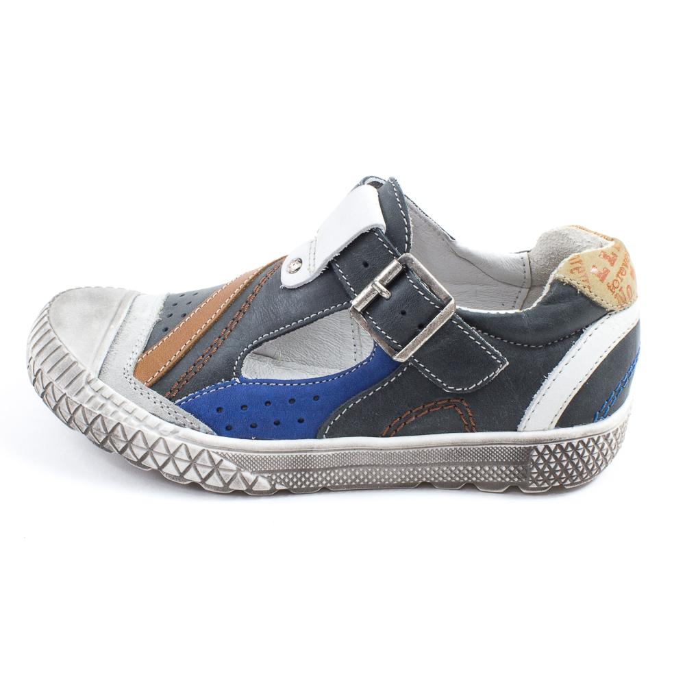 Chaussures Garon - Le Loup Blanc Baskets ouvertes HAMIR bleu -
