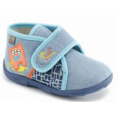 GBB Chaussons MAVERICK jeans-turquoise
