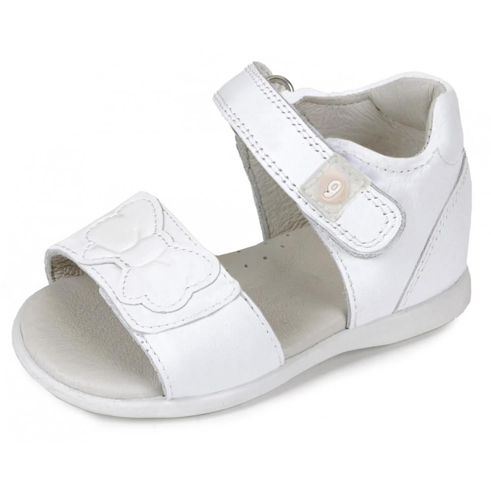 a60077a046c9a Garvalin Sandales Blanc 162303E Garvalin Sandales Blanc 162303E. chaussures bebe  fille ...