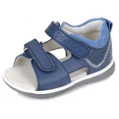 Garvalin Sandales Bleu pour garçon à scratch 162327A