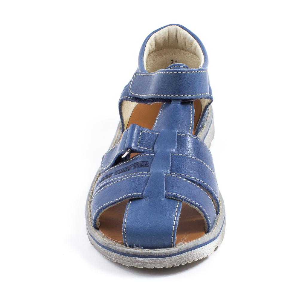 Achetez à prix promo GBB Sandales garçon à scratch MANUEL bleu d429035c5cf