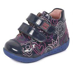 Agatha Ruiz de la Prada Boots bleues à scratchs 161906A