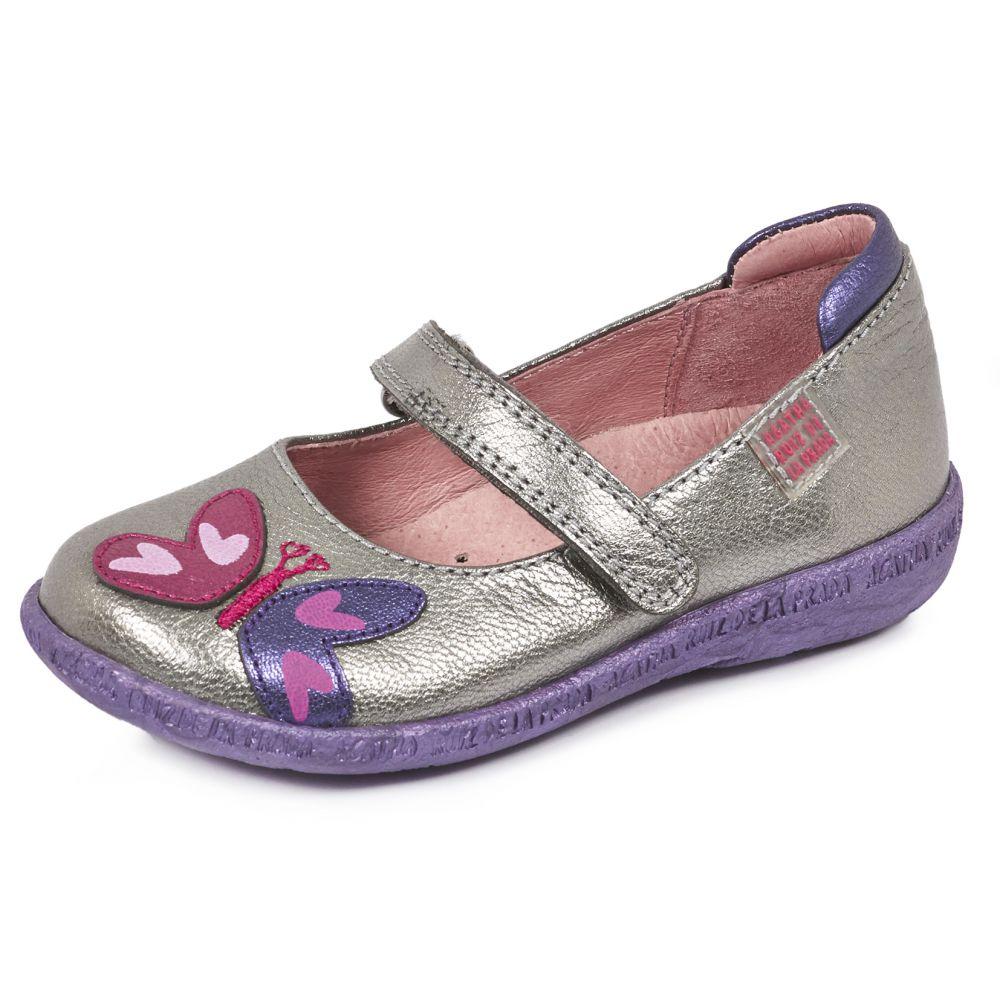 chaussure fille pas cher ballerines argent agatha ruiz de la prada. Black Bedroom Furniture Sets. Home Design Ideas