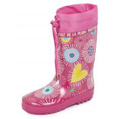 Bottes de pluie rose Agatha Ruiz de la Prada 161995B