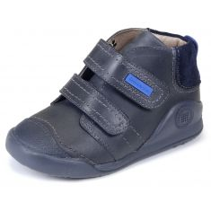 Garvalin Biomecanics Boots à scratchs bleu 161160A