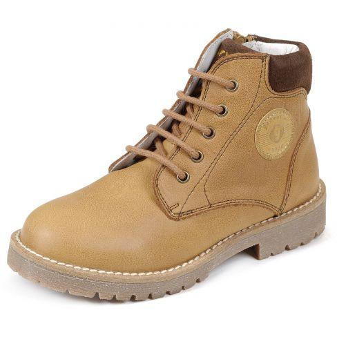 Boots beige à lacets Garvalin 161480D-FB