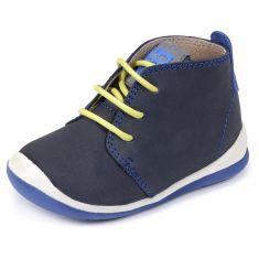 Chaussures garçon Garvalin Boots bleu à lacets 161322A
