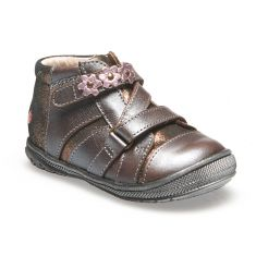 Bottines NICOLETA bois de rose GBB