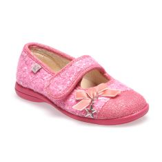 Chaussons ballerines fille NAZZARO rose GBB