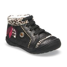Boots CATIMINI ARA noir-leopard