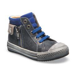 CATIMINI Boots gris-bleu BOA
