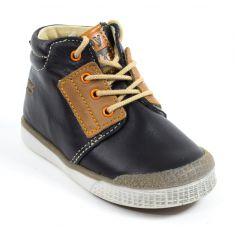 Babybotte Boots garçon à lacets noir ATLAS