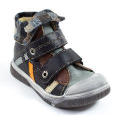 Babybotte Boots noir velcro pour garçon ACTEUR6