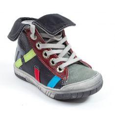 Babybotte Boots cuir à lacets garçon ARTIGRAFF gris