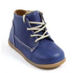 Babybotte Chaussures montantesbébé garçon premiers pas FANFARON bleu marine