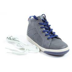 Babybotte Boots à lacets garçon ANKARA gris