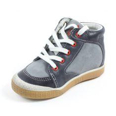 Babybotte Boots enfant garçon à lacets AIGLE gris