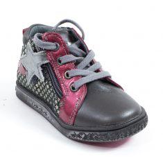 Babybotte Boots à fermeture fille ADRENALINE rose
