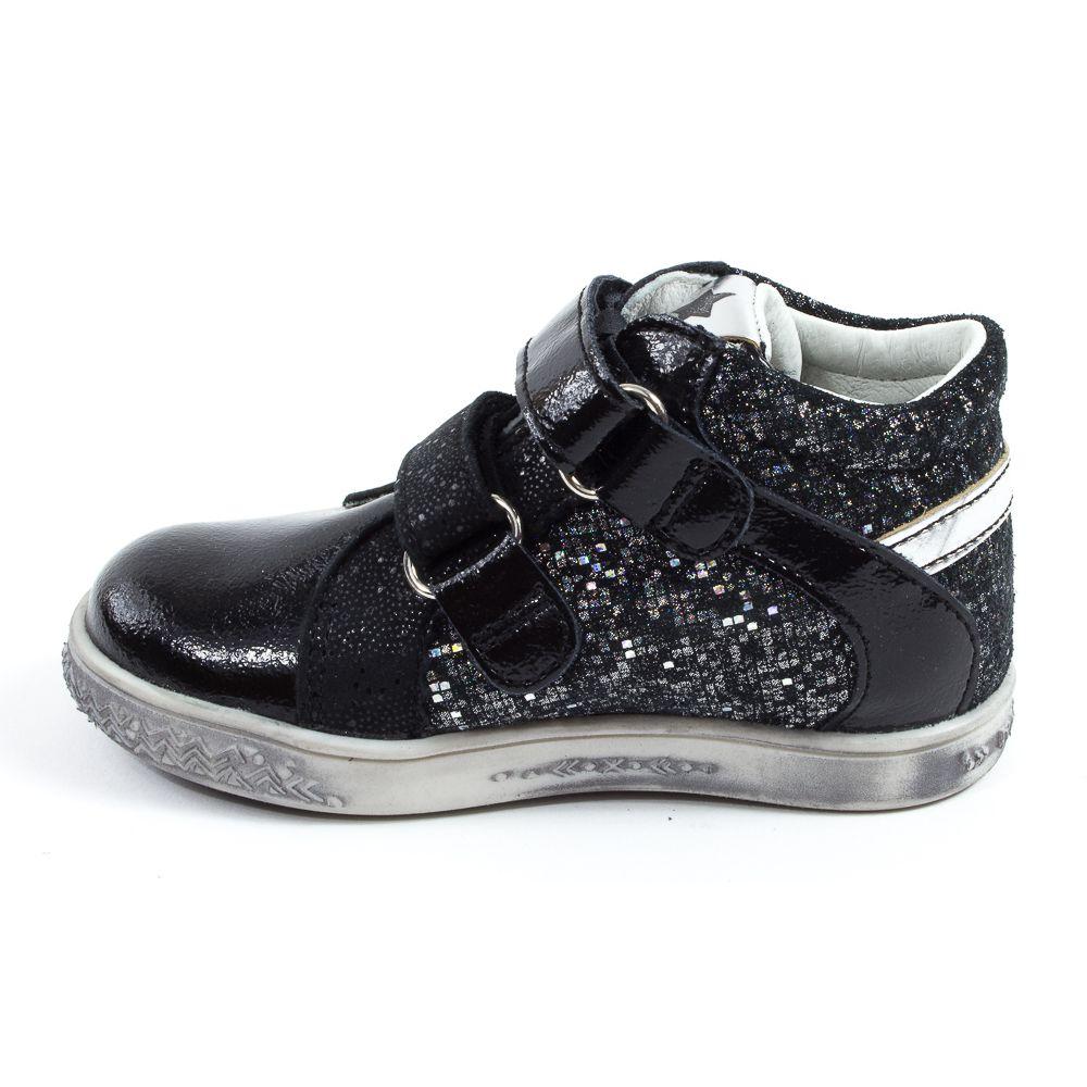 Babybotte Boots bébé fille à scratchs ANATOLI noir qXzipQGw