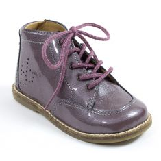 Babybotte Bottines rose bébé fille AURIGINAL3