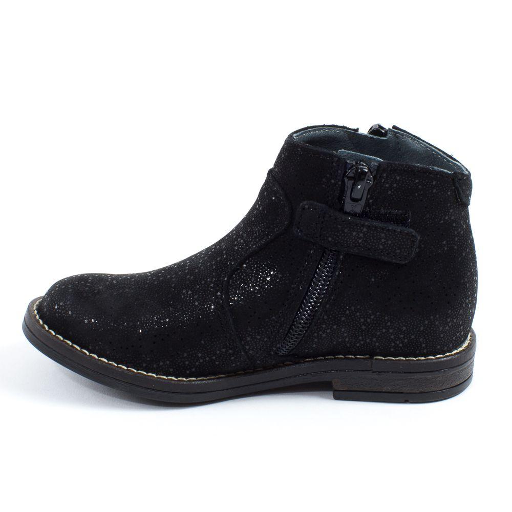 Babybotte Low Boots fille à fermeture KIMONO noir Kw9eN