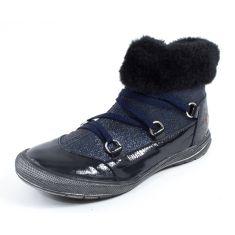 Boots bleu marine à fermeture GBB NATALENE