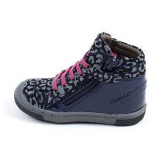Chaussure fille MOD8 sneakers bleu IRENE 2