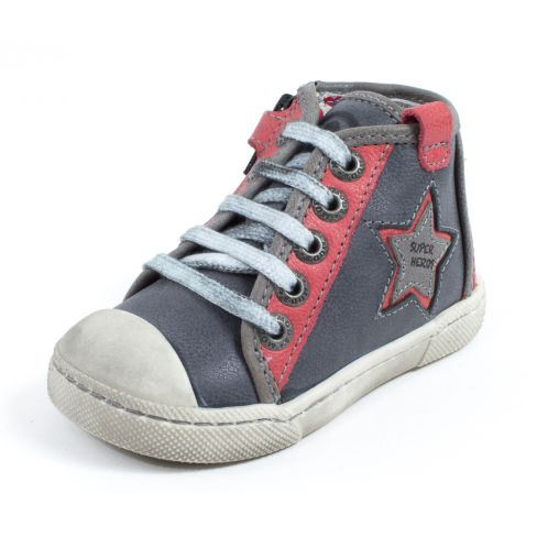 Mod8 Chaussure garçon Sneakers KAMINO gris