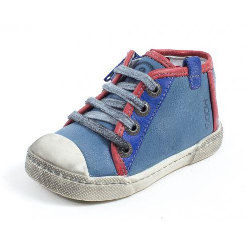 Chaussures à scratch Mod8 bleues garçon O6E7jJcZj0