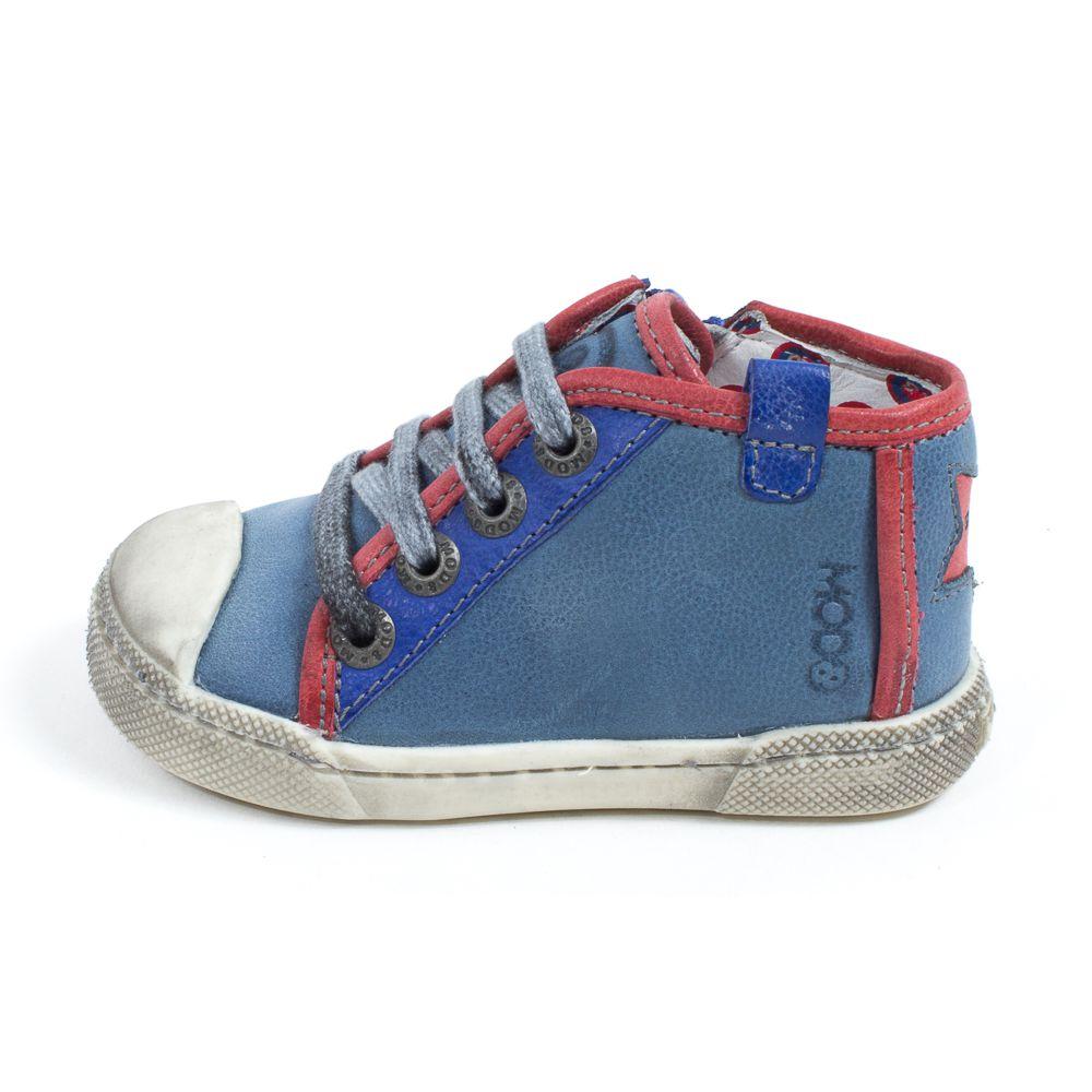 MOD8 Baskets montantes garçon bleu KAMISHORT eY33uju