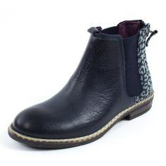 Boots fille bleu marine mod8 NANA