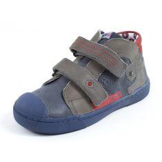 Chaussures garçon Sneakers haut velcro MOD 8 KINZO bleu