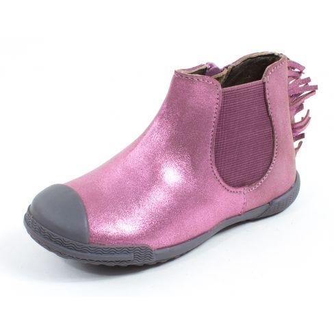 Boots fille MOD8 KULT rose nacré