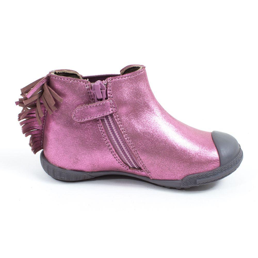Boots fille MOD8 KULT rose nacré NZwikI