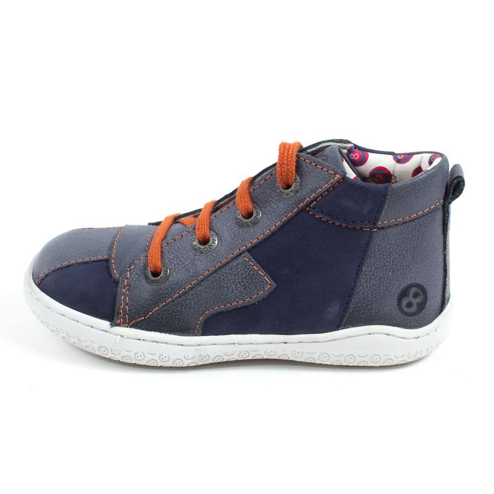 Chaussures à lacets Mod8 noires Casual garçon HlT7AS