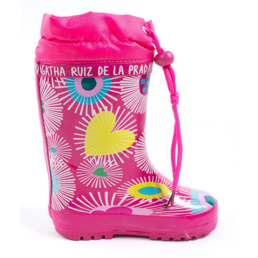 Bottes de pluie rose Agatha Ruiz de la Prada 161995B hOMXmi11